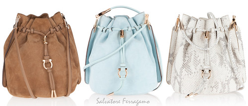 Salvatore Ferragamo Bucket Bags
