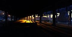 (Scotticus_) Tags: street nyc newyorkcity morning usa newyork sunrise dawn riverside manhattan earlymorning overpass eastriver northamerica newyorkstate lowermanhattan flyover southstreet 2011 eastriverdrive fdrdr franklindrooseveltdrive eastriverbikeway