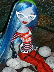 Monster high  Gholulia  Yelps Zombies (super.star.76) Tags: blue monster by high wolf doll d frankie cleo stein mattel deuce lagoona enile yelps ghoulia clawdeen draculaura