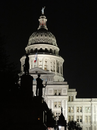 The Capitol By Night