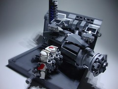 Flak cannon (justin pyne) Tags: fiction 6 trooper star lego space science corps mission fi wars clone sci gand legion 61 lieutenant pyne ultimatum 457th 707th