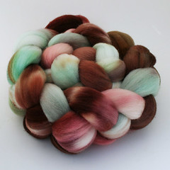 Mint Swirl on Polwarth