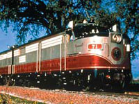 ナパバレー・ワイントレイン(鉄道旅行・列車の旅のオプショナルツアー)