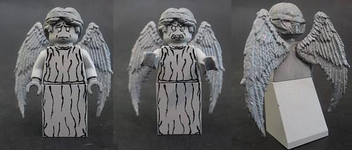 Custom minifig Weeping Angel