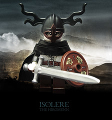 Isolere the Hiromenn (Morgan190) Tags: castle history norway lego harrypotter fantasy historical ni minifig collectible minifigs custom viking mythology voldemort norse m19 minifigure series4 brickforge morgan19 morgan190 bricktw hiromenn