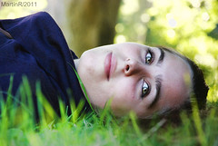 lay on the grass
