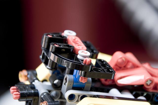 TT1000G (Lego): parrilla portabultos