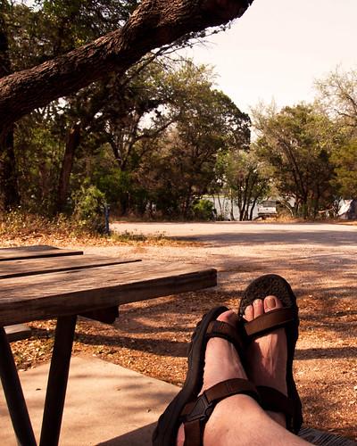 Camping Feet