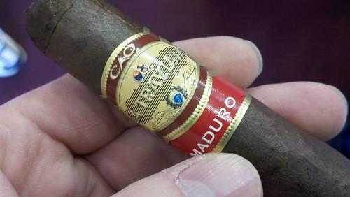3rd Cigar of my #Cigarfest day. @caocigars La Traviata Maduro