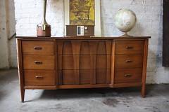 Mid Century Scandinavian Triple Dresser (Kennyk@k2modern.com) Tags: boy set bedroom long hi ward dresser