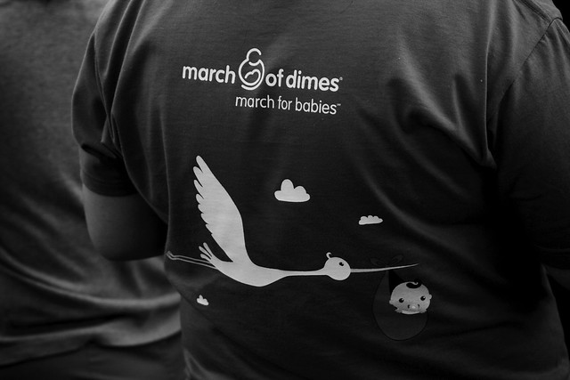 March of Dimes tee
