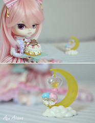 Happy B-day, J! *DDW18/52* (Au Aizawa) Tags: cloud moon cake sweet dal sanrio phoebe lolita rement littletwinstars angelicpretty hellcatpunks dollydiptychweekly marreti