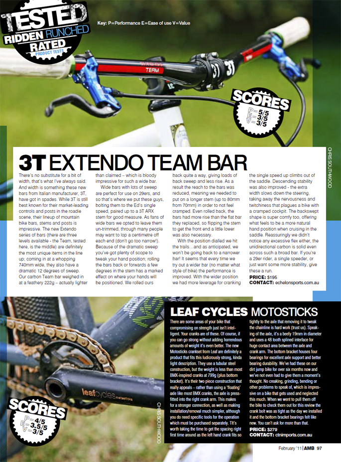 Leaf Cycles Motosticks Full Review