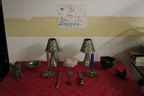Beltane Altar 2011