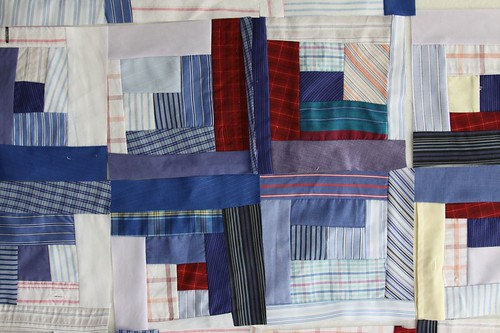 Recycled clothing quilt, sustainable quilt, recycled quilt, how to quilt using clothing