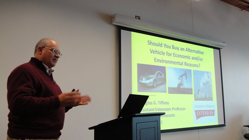 Doug Tiffany from the University of Minnesota Extension presents