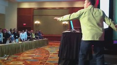 #AEA funky dance moves with Luke Wroblewski @lukew (Jeffrey) Tags: boston design webdesign conference css ux beantown aea 2011 alistapart css3 aneventapart contentstrategy html5 forpeoplewhomakewebsites webtype alistapartcom aneventapartcom aeabos
