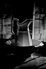 another ironstone (Codascout) Tags: lighting sunset blackandwhite bw sunlight 3 abstract monochrome architecture vw night delete5 delete2 blackwhite interestingness interesting nikon dof view exploring vivid save event software nz theme late athome fav 365 presence viewpoint depth save1 vantage 117 obscure separation interpretation nx d90 explored blackwhitephotos byobw nx2 useoflight nikond90 inresponse prodx project365day prjoject365day123