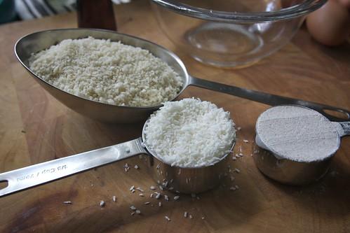 coconut and flour
