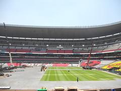 Tercer día de montaje - Estadio Azteca 24