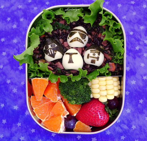 Star Wars Bento #4 by sherimiya ♥