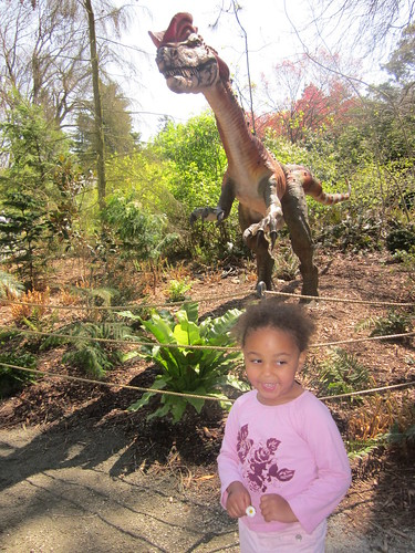 05-01-11 - Dinosaurs at the zoo