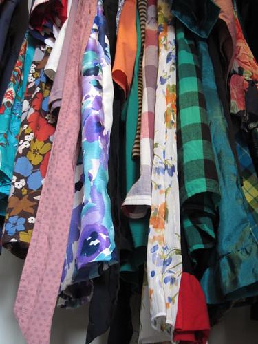 Closet of handmade