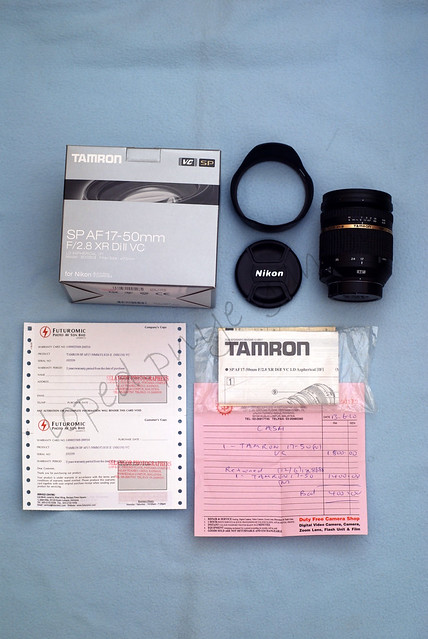 WTS Tamron 17-50mm 2.8 VC