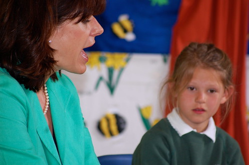 Claire Perry at School
