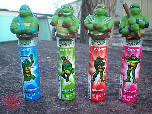 Koko's Confectionery & Novelty :: 'Teenage Mutant Ninja Turtles' CANDY SPRY i (( 2009 ))