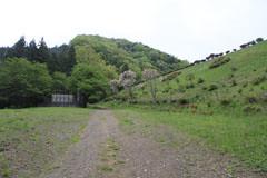 小篠貯水池の堰