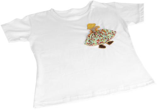 Camiseta Menininha by PARANOARTE