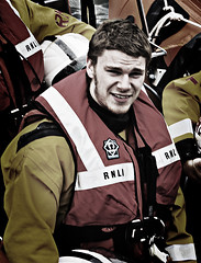 Portrush RNLI names new lifeboat (spatialpan) Tags: ireland harbour atlantic northern portrush rnli antrim spatialpan