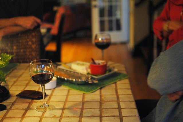 informal dinner party