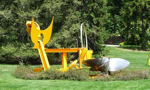 Mark di Suvero - Sunflowers for Vincent