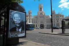 mata tu idolo - neko - kill your idols (dug_da_bug) Tags: madrid poster spain ad advert abc neko takeover matatuidolo killyouridol nekoabc