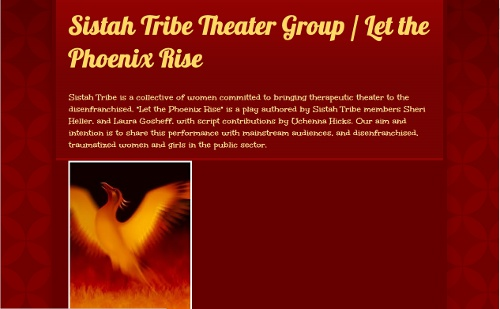 Sistah Tribe Theater Group- Let the Phoenix Rise