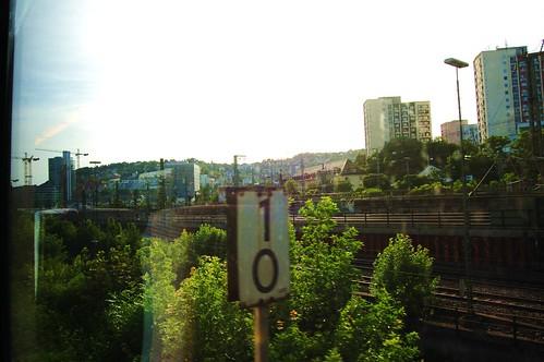 10 into Stuttgart