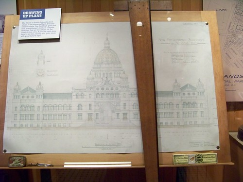 Building Plans for the BC Legislative Building
