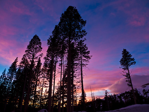Tahoe Winter Sunset