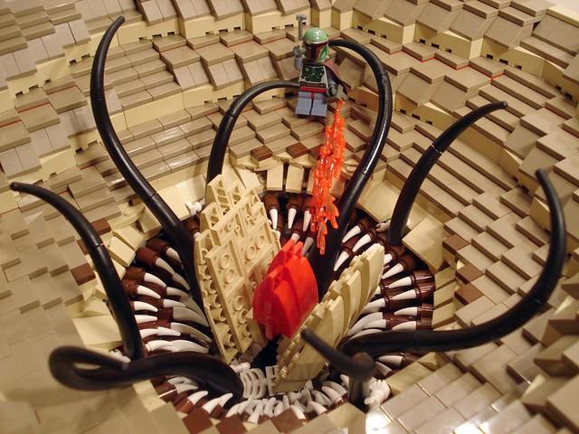 Boba Fett Escapes Sarlacc - LEGO Star Wars - Eurobricks Forums
