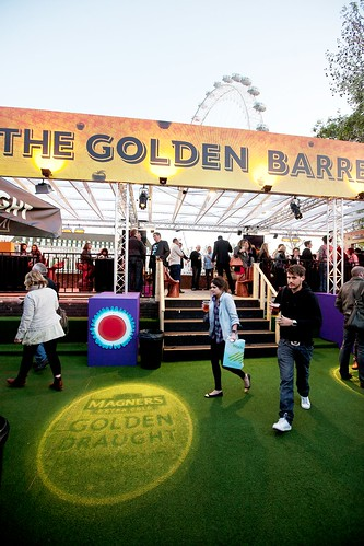 Magners Golden Draught launch Udderbelly 1