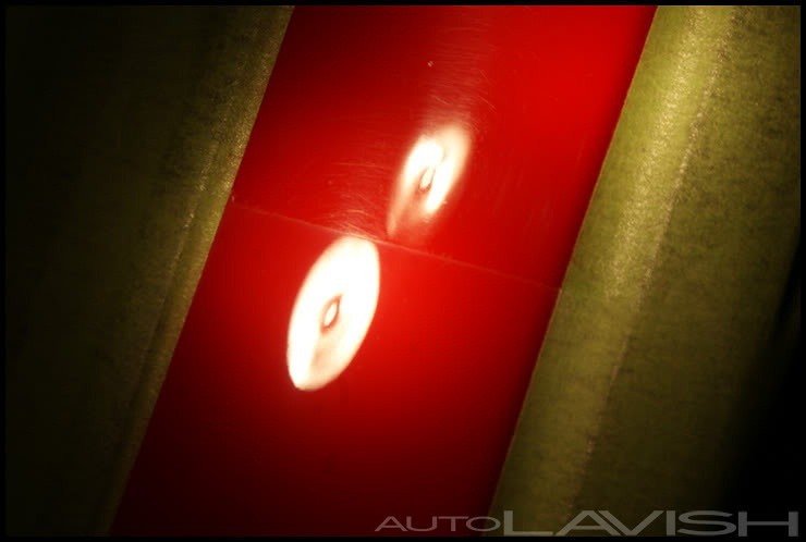 ferrari paint correction pillars