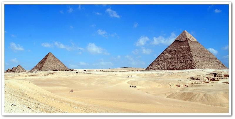 1Khafre和Menkaure金字塔
