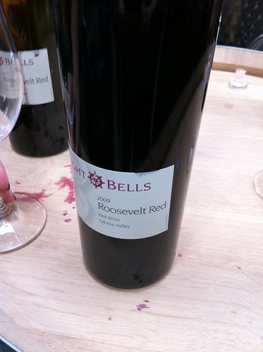 Roosevelt Red from Eight Bells Winery in Seattle