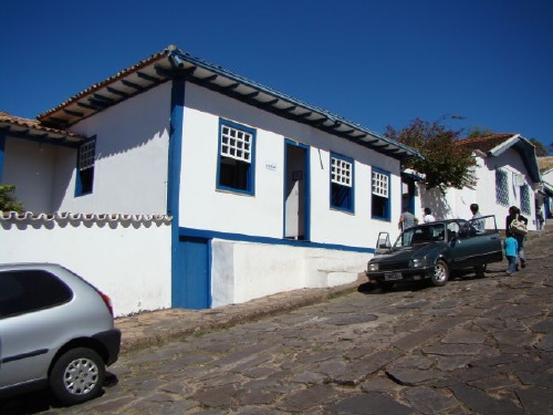 Birth place of Jucenino Kubichec - Diamantina - Brazil