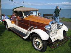 1927 Hudson (Hugo90-) Tags: auto show park classic car boat wooden washington waterfront body antique tail bellingham hudson meet carpenter roadster tompeterson hcar