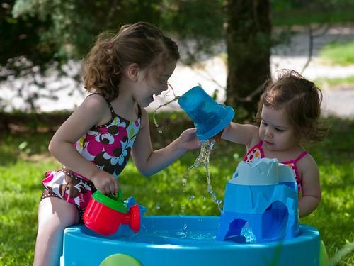 Water is fun
