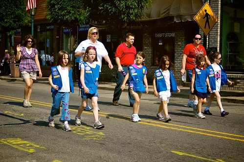 Memorial Day Parade 2011:  Troop 51504.