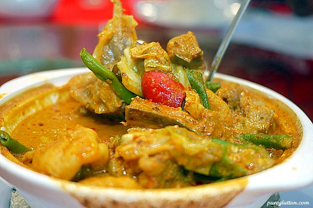 curry fish head